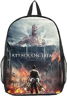Attack on Titan Anime Cosplay Bookbag Backpack Racksack Shoulder Bag School Bag