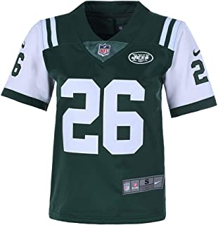 Nbyjets Youth 8-20#26 LeVeon Bell New York Jets Home Green Jersey