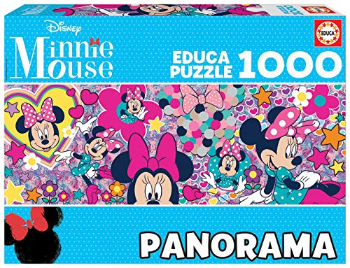 Educa Borras Puzzle Minnie Mouse Panorama 1000 Piezas (17991) , color/modelo surtido