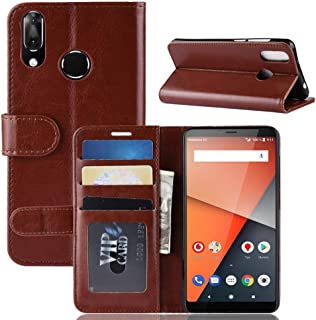 CN Case for Vodafone Smart X9 Case Flip leather + TPU Silicone fixing Cover 2