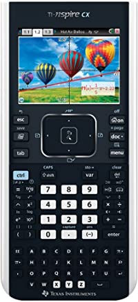 $189 » Texas Instruments TI-Nspire CX Graphing Calculator, Frustration Free Packaging (Renewed)