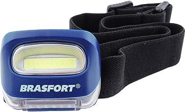 Lanterna Para Cabeça, Brasfort, LED Cob Ciclope, Azul