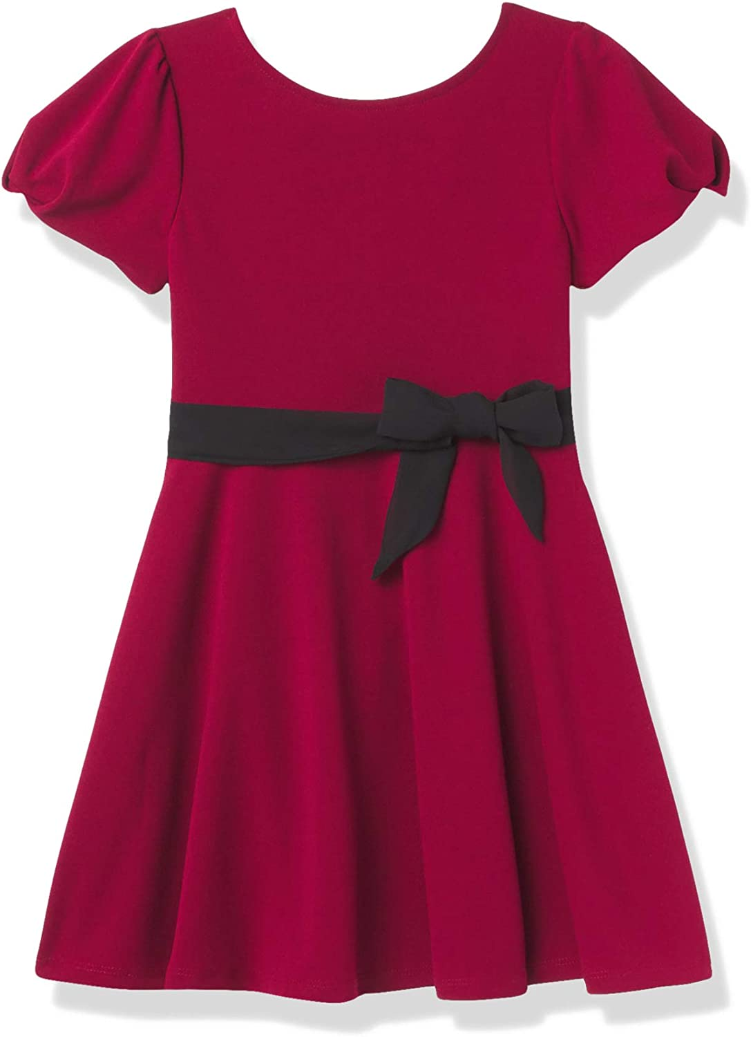 Speechless Girls' Short Sleeve Fit and Flare Dress