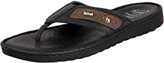 Dr.Scholls Men's Leather House Slippers