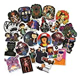Decal Stickers 50 PCS Stranger Things Waterproof Stickers for Laptop, Party Supplies, Trolley, Car, Motorcycle Bicycle Luggage Decal Graffiti Patches Skateboard Sticker
