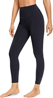 Ronanemon Women's High Waisted Yoga Pants Leggings with Pocket Tummy Control 4 Way Stretch Buttery SoftWorkout Pants