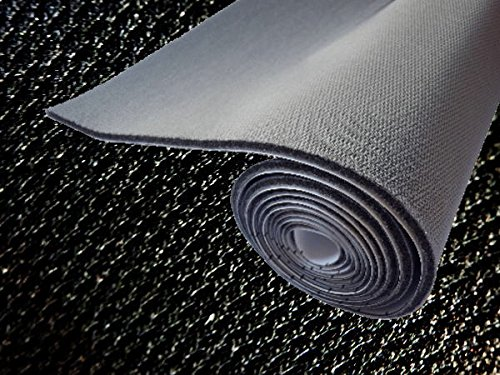 AUTOMAX izumi 純正トリム張替えシート (大) 黒 幅135cm×1m 内装 張替用 メッシュ生地 糊付 ブラック