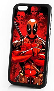 ( For iPhone 5 5S SE ) Durable Protective Soft Back Case Phone Cover - A11287 Deadpool Ninja