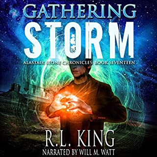 Gathering Storm: An Alastair Stone Urban Fantasy Novel     Alastair Stone Chronicles, Book 17              By:                                                                                                                                 R.L. King                               Narrated by:                                                                                                                                 Will M. Watt                      Length: 11 hrs and 35 mins     Not rated yet     Overall 0.0