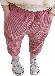 Bigbarry Boy and Girl Baggy Comfy Waist Drawstring Sport Jogger Long Pants