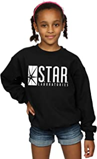 Girls The Flash Star Labs Sweatshirt