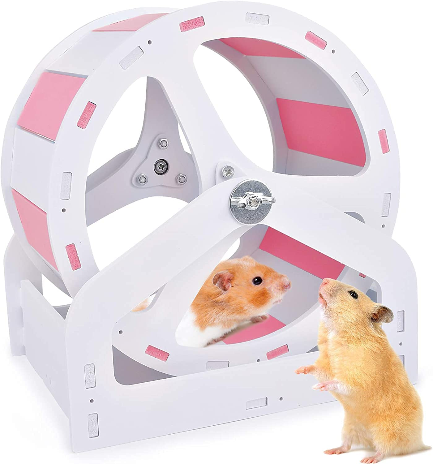 Super Silent Runner Hamster Exercise Rare Adjustable Omaha Mall with Stan Wheels