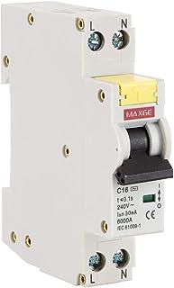 comprar comparacion LEDKIA LIGHTING Interruptor Combinado DPN (Automático + Diferencial) MAXGE 1P+N-6kA 16 A1 + N