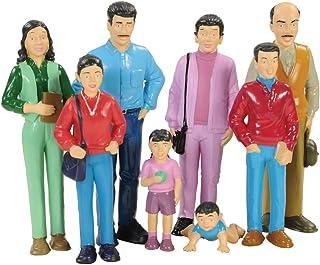 Marvel - 136 Education Pretend Play Hispanic Family, Toy Figures for Kids