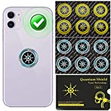 12 PCS - EMF Protection Cell Phone Sticker - Radiation Blocker for Cell Phone - Anti Radiation Protector Shield Stickers for Mobile Phones iPad MacBook Laptop - All Electronic Devices