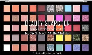 50 Colors Eyeshadow Palette, Shimmer Matte Glitter Eyeshadow Makeup Palette, Velvety Texture, long-lasting makeup, Profess...