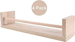 wooden spice rack shelves