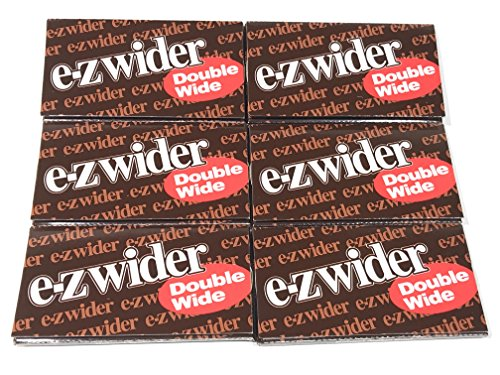 EZ Wider Double Wide 6 Pack of 24 Sheet Total of 144 Sheets Free Seal Fresh Tube by S and L Wholesale, INC