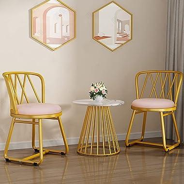 Makeup Chair Vanity Chair Dressing Stool Vanity Stool Bedroom Dressing Table Chair Modern Backrest Makeup Chair Velvet Dining