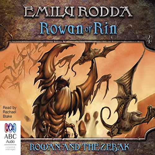 Rowan and the Zebak cover art
