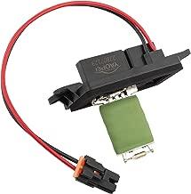 Manual Blower Motor Resistor with Harness for 2003-2006 Chevrolet Avalanche,Silverado,Suburban,Tahoe,GMC Sierra Yukon Cadillac Escalade Replace# 89019088 973-405 15-81086 22807123