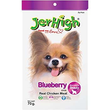 JerHigh Blueberry Stick With Real Chicken Meat, 70 g