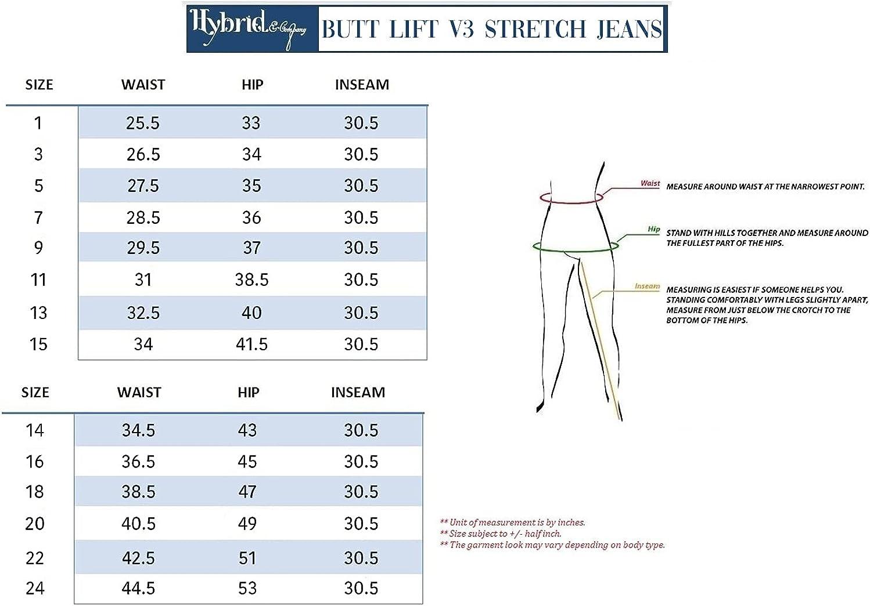 Women Butt Lift 3 Button High Wide Waist Stretch Denim Skinny Jeans Capri Bermuda Short
