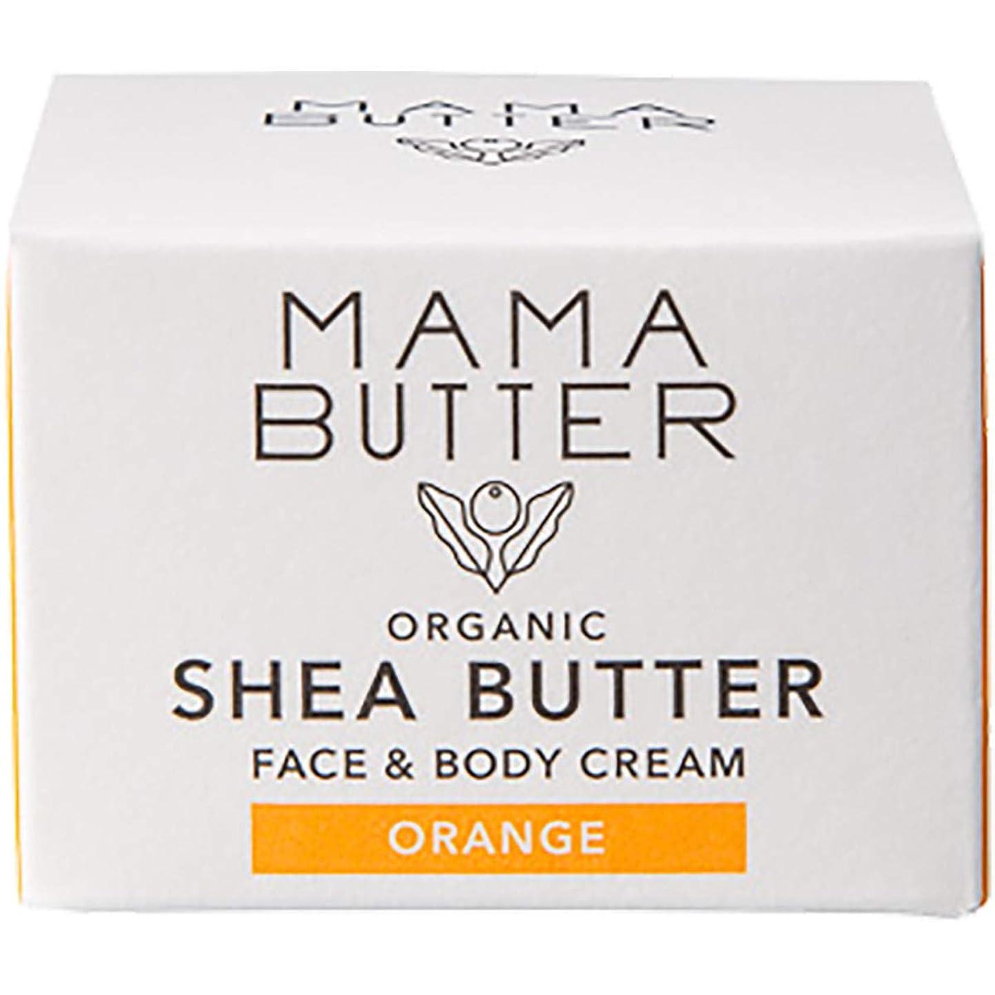シンプルさ既婚合図MAMA BUTTER(ママバター) フェイス&ボディクリーム25g オレンジ