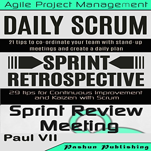 Scrum Master: Scrum Events Box Set audiobook cover art