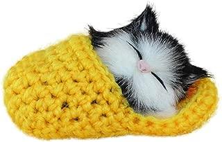 chat Id/ée cadeau pour filles Glamour Girlz Adorable porte-monnaie en peluche douce au toucher Motif animal