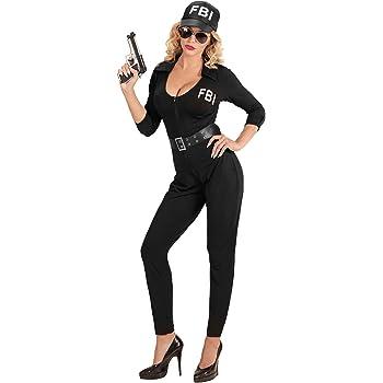 WIDMANN wdm74033 ? Disfraz agente FBI, Negro, Large: Amazon.es ...