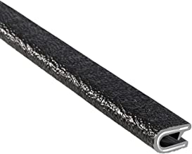 "Trim-Lok 100B3X1/8-25 Edge Trim – Flex PVC Edge Protector for Sharp&Rough Surfaces – Easy Install, Push-On Guard for Cars,Boats,Machinery &More – Fits 1/8"" Edge, 9/16"" Leg L, Single Grip Finger, 25' L"