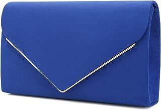 Best blue suede clutch bags Reviews