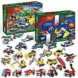 JOYIN 2020 Advent Calendar Kids Christmas 24 Days Countdown Calendar Toys for Kids with Vehicle Building Blocks