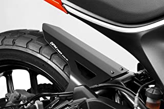 Ducati Scrambler 400 - Kit Rear Hugger + Splash Guard (D-0215) - Aluminium Mudguard Fender - Hardware Fasteners Included - De Pretto Moto Accessories (DPM Race) - 100% Made in Italy