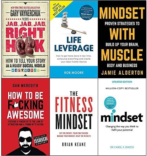 Jab jab jab right hook life leverage mindset with muscle how to be fucking awesome fitness mindset product image