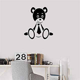NA Wall Art Stickers Quotes and Sayings Cartoon Cute Bear Nursery Bedroom Decor Interior Animal Decals Gift Decor