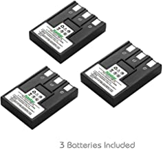 Kastar Battery (3-Pack) for Canon NB-3L and PowerShot SD10, SD100, SD110, SD20, SD500, SD550, Digital IXUS 700, 750, i5, Digital 30, 30a, 600, 700, D30, D30a, D53Z, IXY Digital L, IXY Digital L2