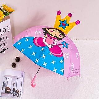 Children Lovely Umbrella Cute Cartoon Animal Animation Creative Long-Handled Hanging 3D Ear Modeling Kids Umbrella for Boys Girl