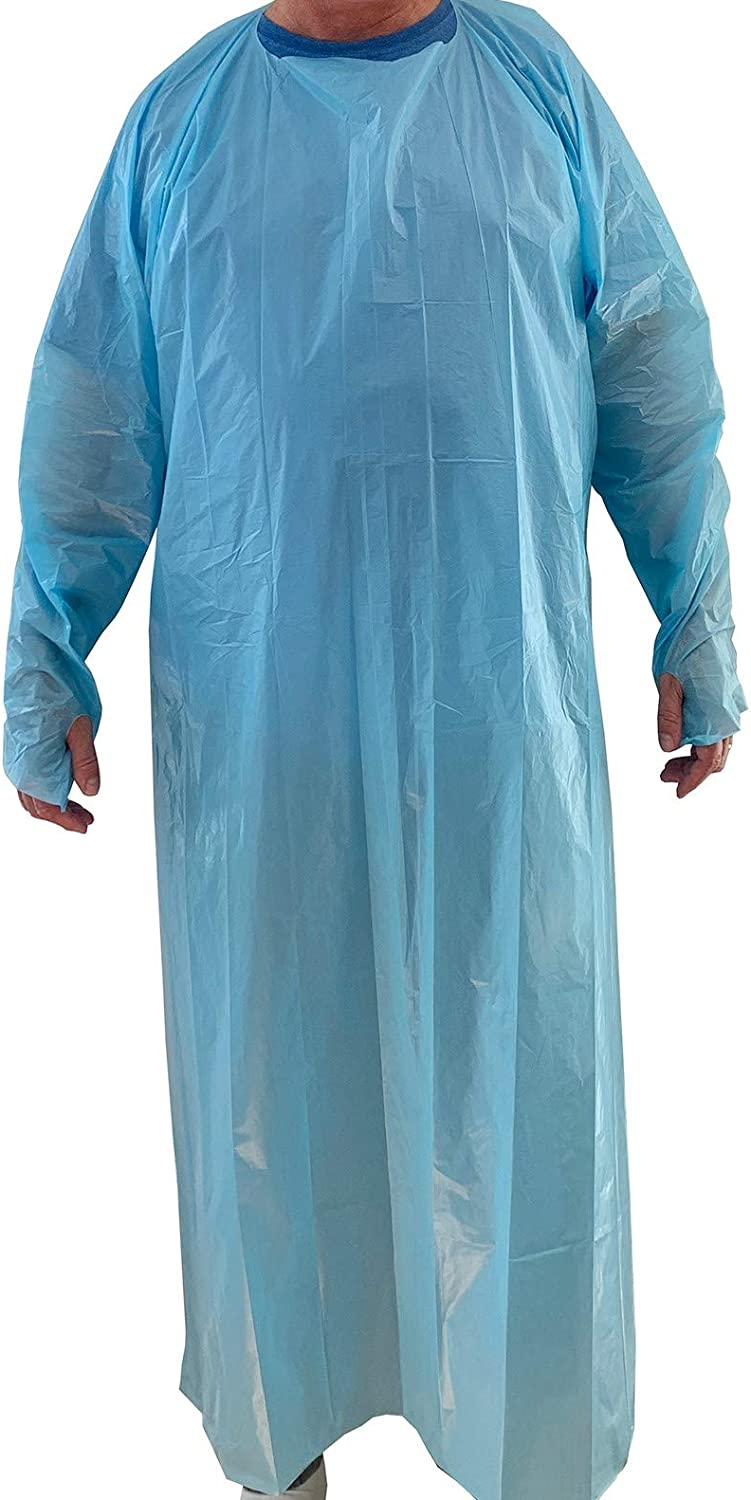 Disposable non-medical non-sterile gown PB70 AAMI 1 year warranty Max 43% OFF Level ANSI