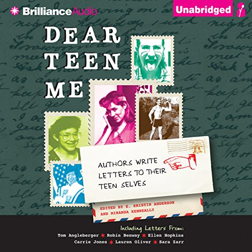 Dear Teen Me audiobook cover art