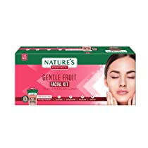 Nature's Essence Gentle Fruit Facial Kit 3 Use, White, 1 count, 60 gm
