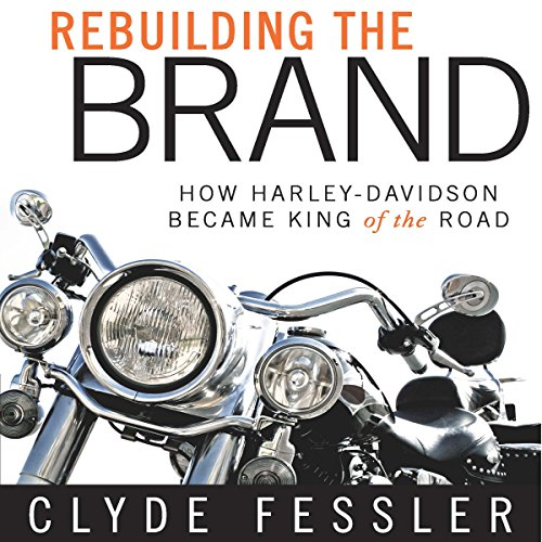 Rebuilding the Brand audiobook cover art
