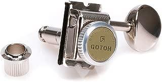 Gotoh Locking Tuners - 6 in a line - Magnun Lock Trad (MG-T) - Nickel