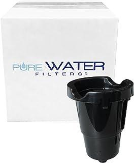 حامل استبدال لفلتر المياه النقي متوافق مع طرز كيريج K-Cup أحادي الخدم K10، K40، K45، K50، K55، K60، K65، K70، K75، K77، K7...