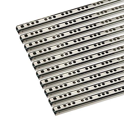 SO-TECH® Schubladenschienen 10 STÜCK Teilauszug Rollenauszug Kugelführung H: 17 / L: 342 mm