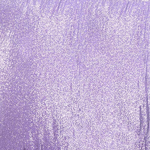 Poise3EHome 5FT x 6FT Sequin Photography Backdrop Curtain for Party Decoration, Lavender