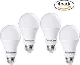 Non-Dimmable LED Light Bulbs 9-watt (60 watt Equivalent) 810 lm, Daylight (6500k), E26 Base, A19