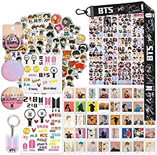 Fans Gift Sticker Sets, Including 63 Pack Stickers, 40 Postcards, 12 Sheet Stickers, 2 Tatoo Stickers, 2 Button Pins, 1 La...