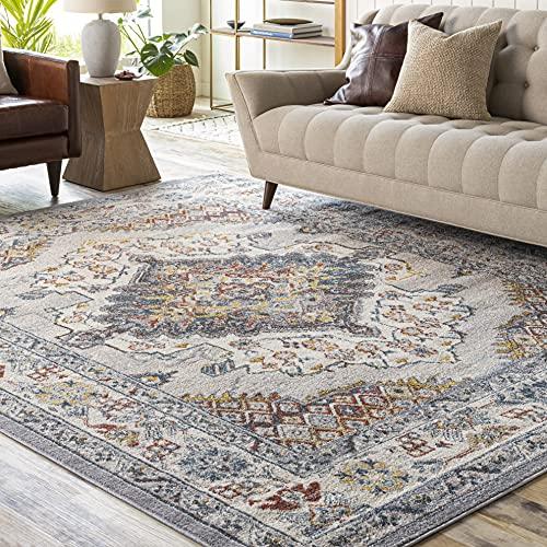 Artistic Weavers Anja Oriental Medallion Area Rug, 7'10' x 10'3', Grey